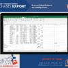 Purchases Export