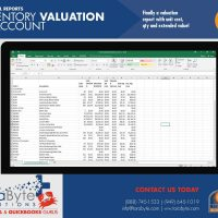 Fishbowl Accounting Inventory Valuation by Account